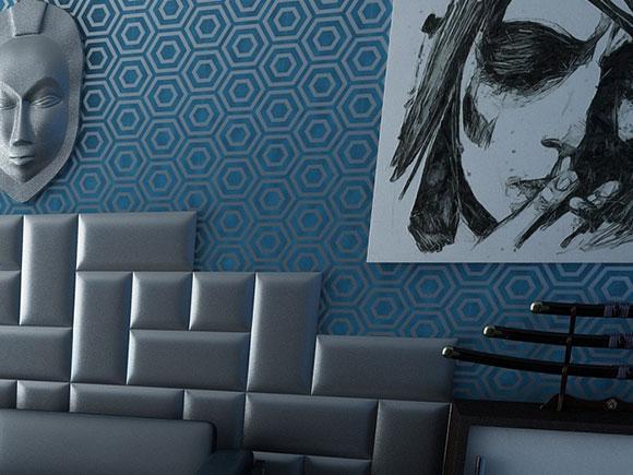 pose papier peint intiss avec raccord gallery of la galre de la pose du papier peint with pose. Black Bedroom Furniture Sets. Home Design Ideas