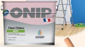 «Clean'Odeur» La peinture qui détruit les odeurs