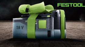 Recevez une batterie FESTOOL gratuite !
