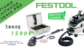 FESTOOL en VENTE FLASH PRO