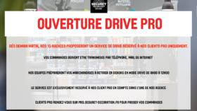 Ouverture DRIVE PRO